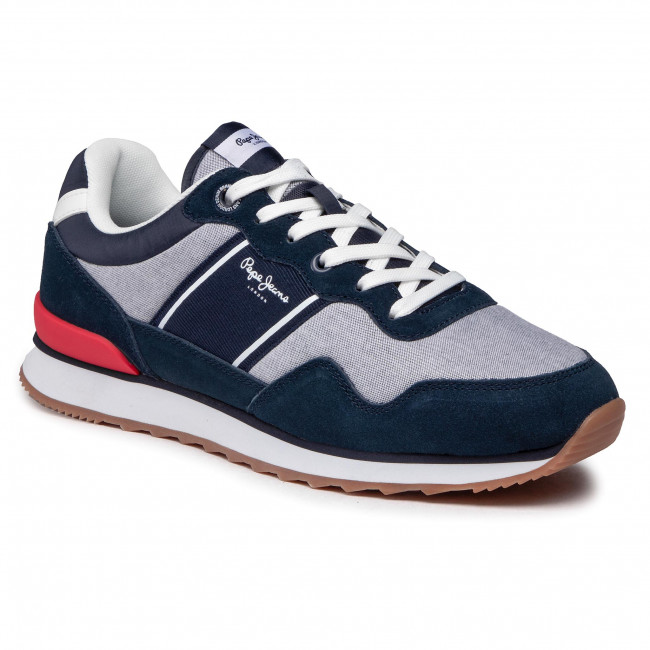 Sneakersy PEPE JEANS - Cross 4 Sailor PMS30703 Chambray 564