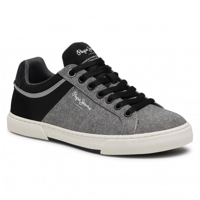 Sneakersy PEPE JEANS - Rodney Chambrey PMS30708 Antracite 982