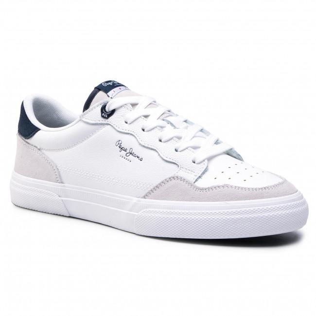 Sneakersy PEPE JEANS - Kenton Original 73 PMS30746 White 800