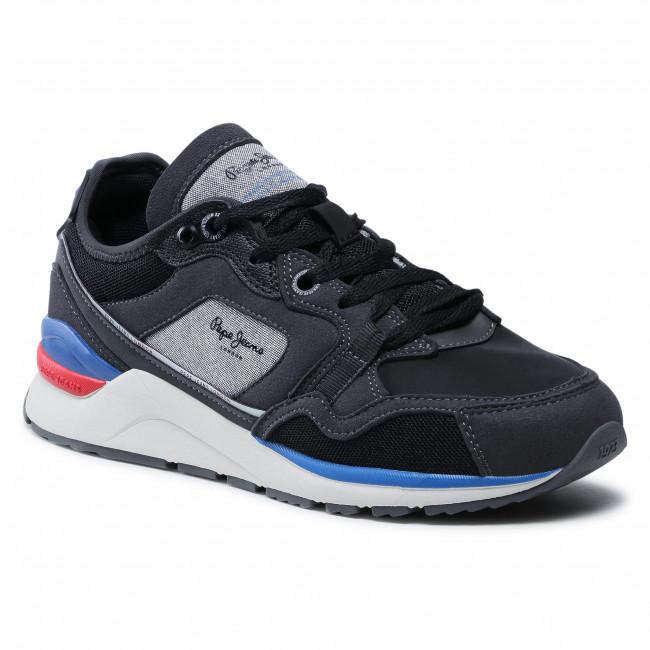 Sneakersy PEPE JEANS - X20 Tech PMS30735 Black 999