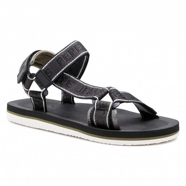 Sandále PEPE JEANS - South Beach Treck PMS90089  Black 999