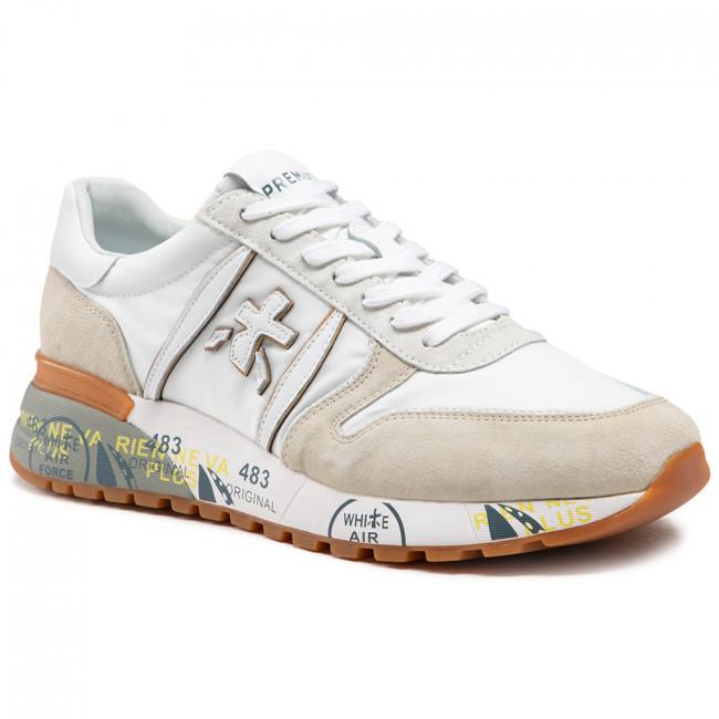 Sneakersy PREMIATA - Lander 5199 Biela