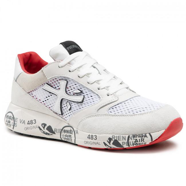 Sneakersy PREMIATA - Zaczac 5236 Béžová Biela