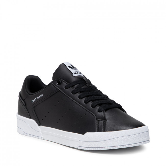 Topánky adidas - Court Tourino H02176 Cblack/Ftwwht/Ftwwht