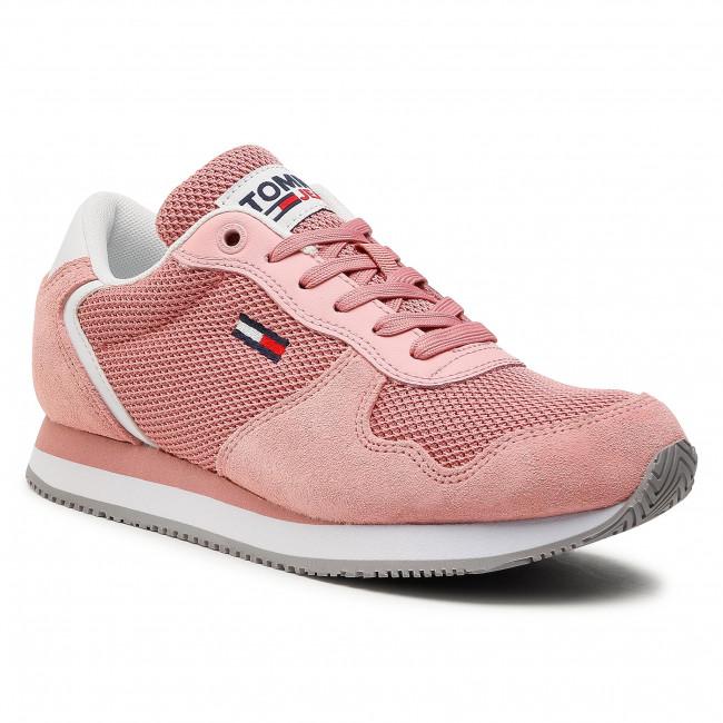 Sneakersy TOMMY JEANS - Mono Sneaker EN0EN01364 Iced Rose TH6