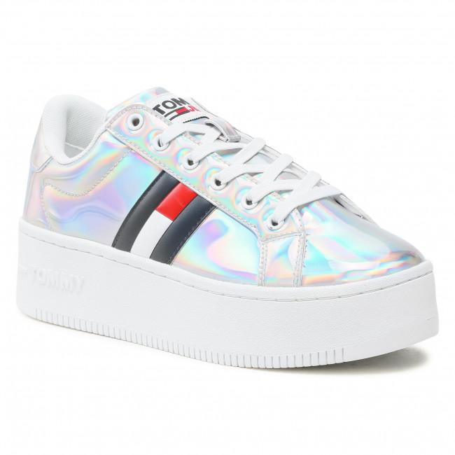 Sneakersy TOMMY JEANS - Fully Iridescent Ironic Sneaker EN0EN01366 Ireidecent 0K8