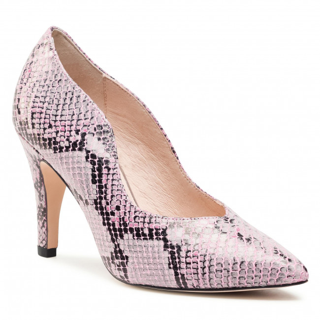Lodičky CAPRICE - 9-22403-26 Pink Snake 557