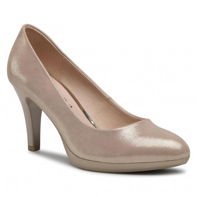 Poltopánky CAPRICE - 9-22414-25 Lt.Gold Suede 964