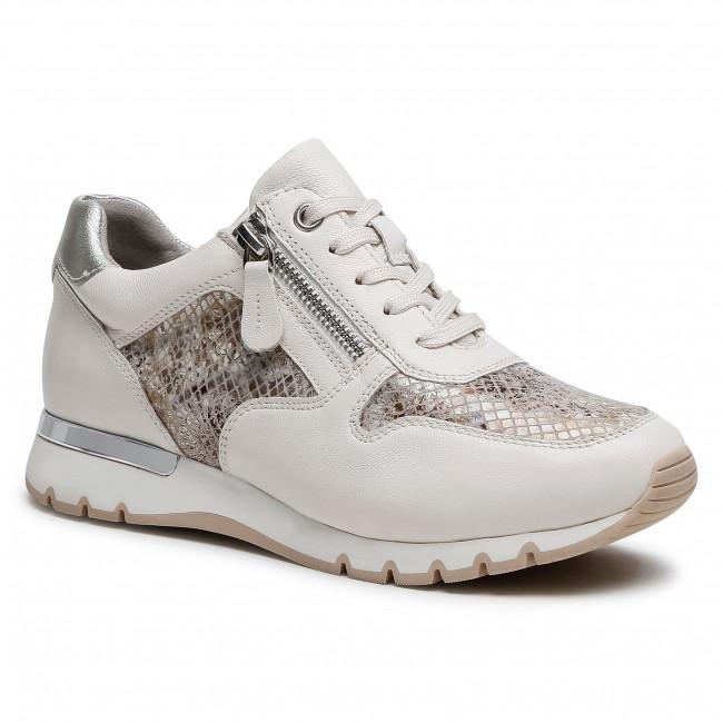 Sneakersy CAPRICE - 9-23601-26 Lt Grey Snak.C 287