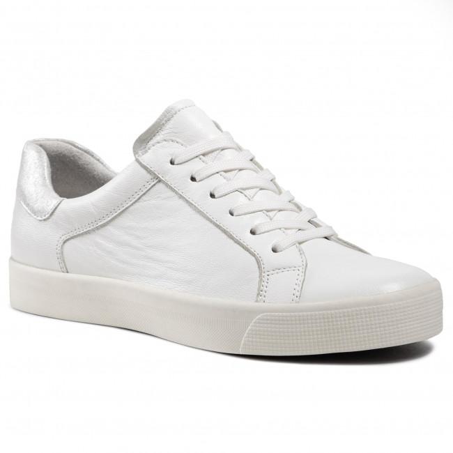 Sneakersy CAPRICE - 9-23640-06 White Nappa 102