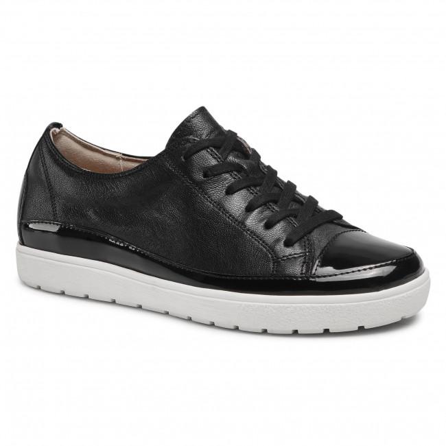Sneakersy CAPRICE - 9-23670-06 Black Nappa Co 026