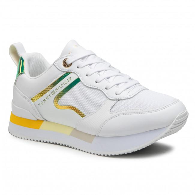 Sneakersy TOMMY HILFIGER - Feminine Active City Sneaker FW0FW05556 Vivid Yellow ZGS