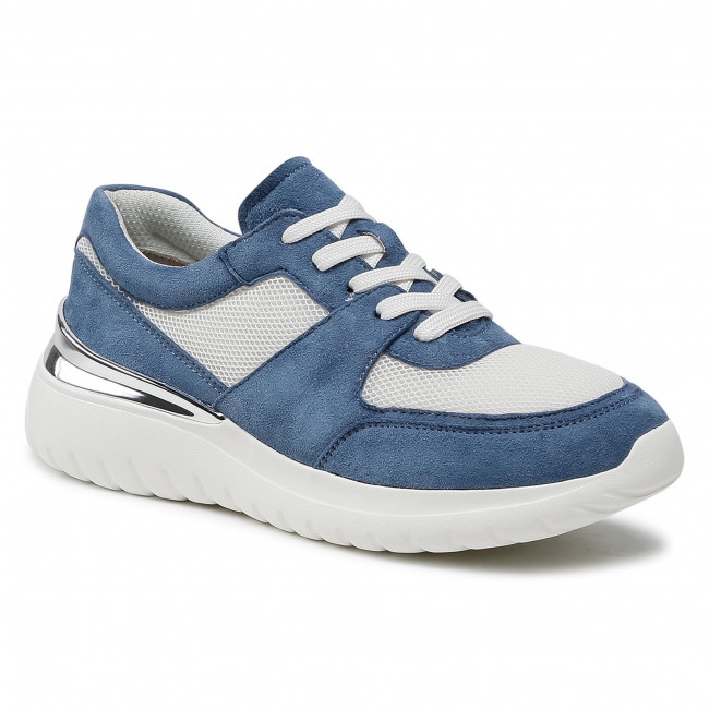 Sneakersy CAPRICE - 9-23720-26 Blue Comb 809