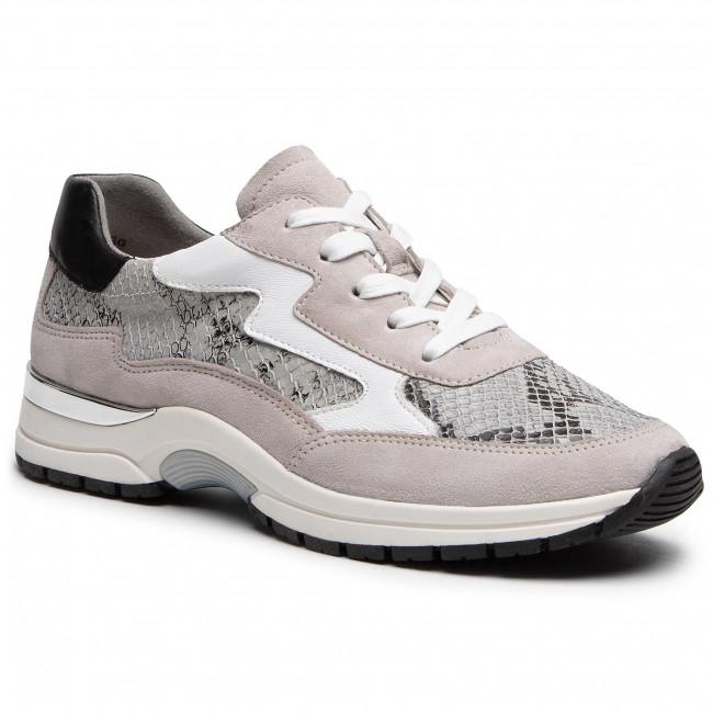 Sneakersy CAPRICE - 9-23721-26 Lt Grey Comb 208
