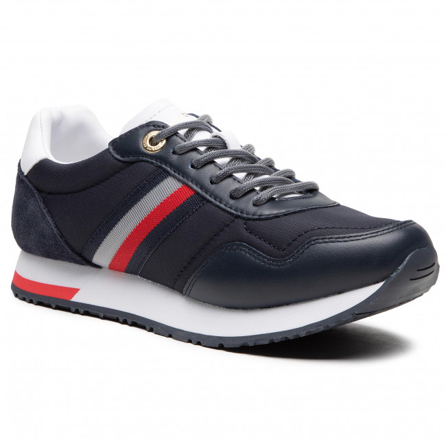 Sneakersy TOMMY HILFIGER - Casual City Runner FW0FW05560 Desert Sky DW5