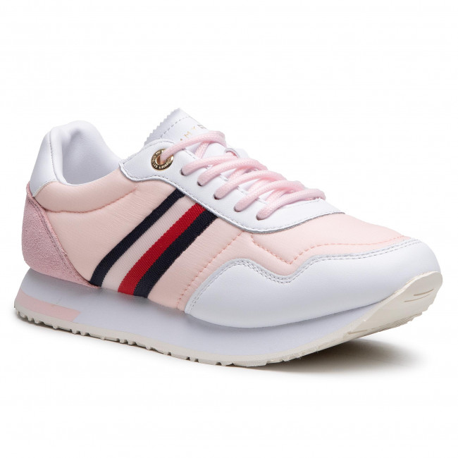 Sneakersy TOMMY HILFIGER - Casual City Runner FW0FW05560 Light Pink TOG