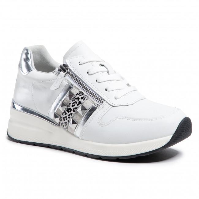Sneakersy CAPRICE - 9-23725-26 White Comb 197