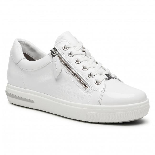 Sneakersy CAPRICE - 9-23753-26 White Naplak 122