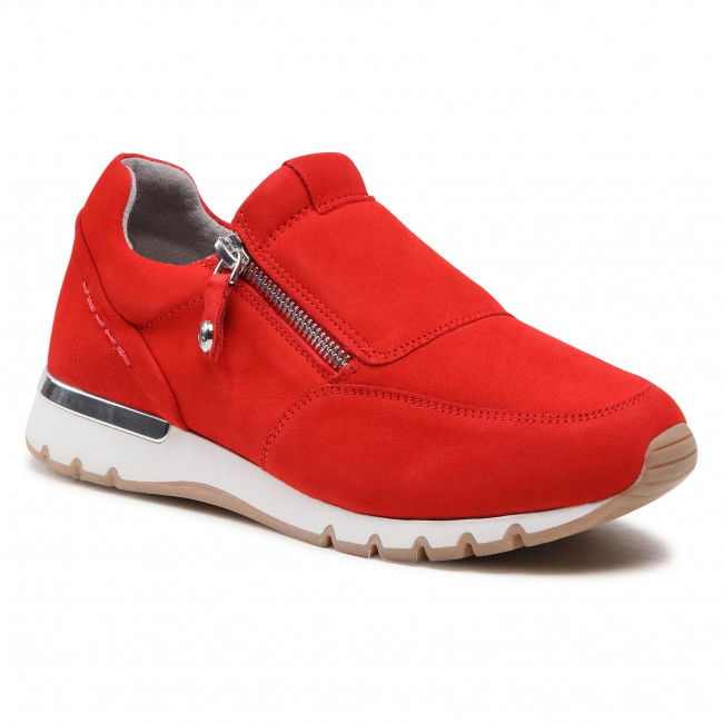 Sneakersy CAPRICE - 9-24703-26 Red Suede 524