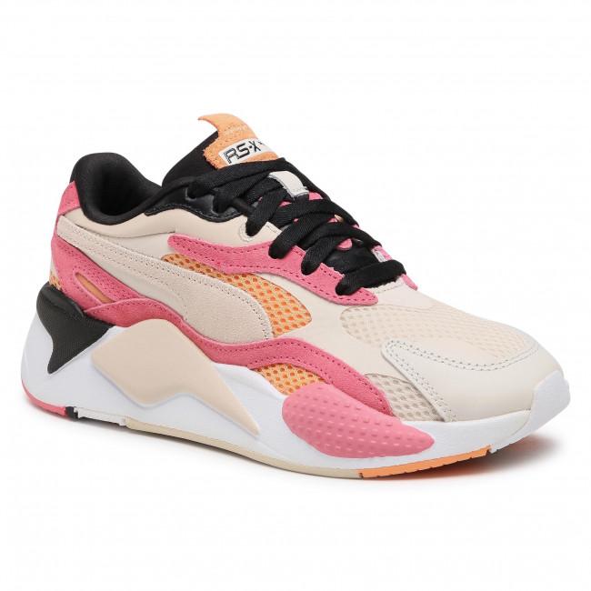 Sneakersy PUMA - RS-X³ Mesh Pop Wn's 372117 01 Marshmallow/Bubblegum