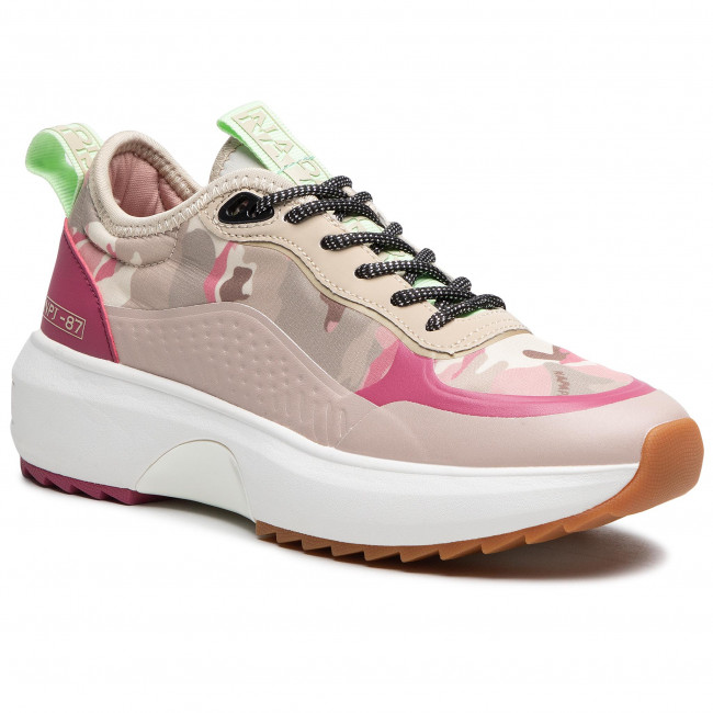 Sneakersy NAPAPIJRI - Christabel NP0A4FKN Mimetic Pink 2T1