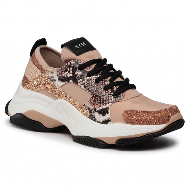 Sneakersy STEVE MADDEN - Ajax SM11000586-04005-686 Rose Gold