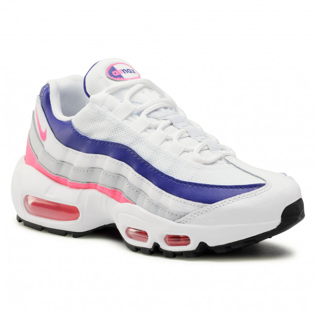 Topánky NIKE - Air Max 95 DC9210 100 White/HyperPink/Concord