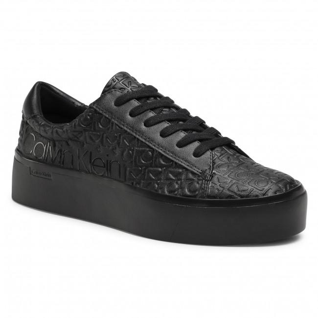 Sneakersy CALVIN KLEIN - Janika B4E00422 Black/Black