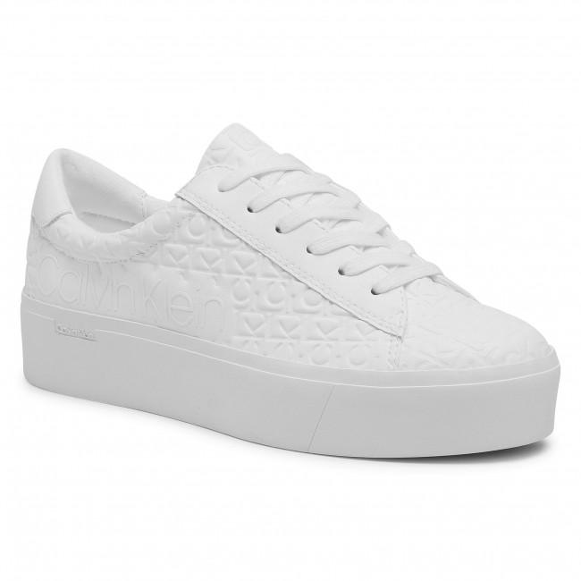 Sneakersy CALVIN KLEIN - Janika B4E00422 White