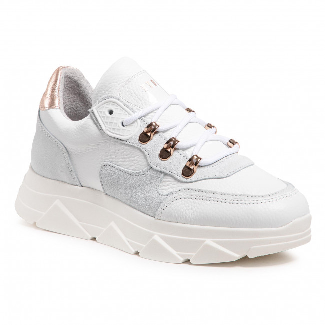 Sneakersy STEVE MADDEN - Picante SM11001388-03001-107 White Leather