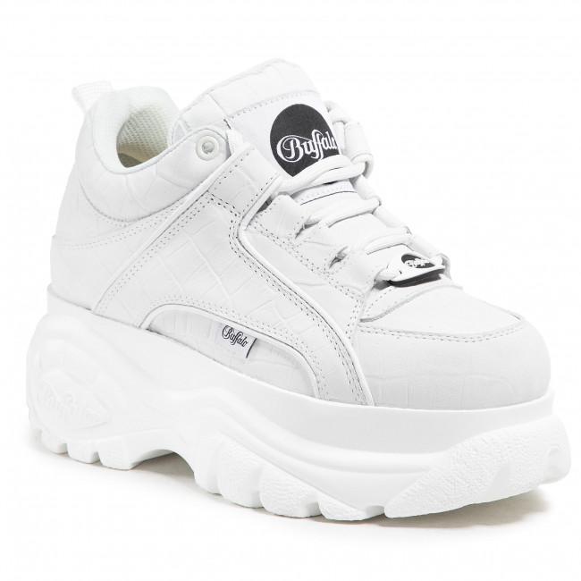 Sneakersy BUFFALO LONDON - BN15332391 Croco Offwhite