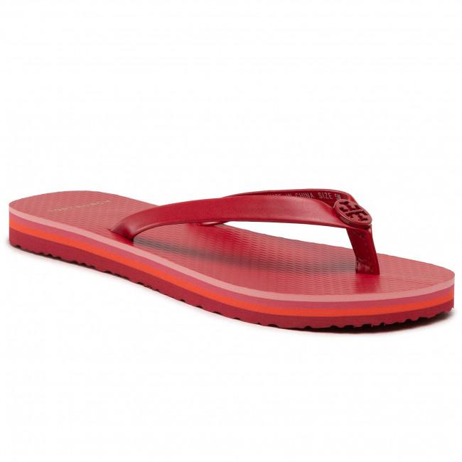 Žabky TORY BURCH - Mini Minnie Flip Flop 76732 Tory Red/Tory Red/Tory Red 600