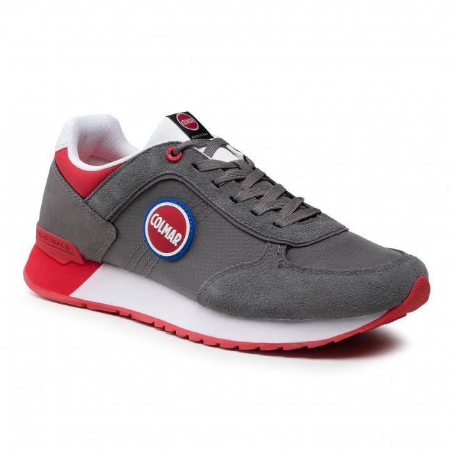 Sneakersy COLMAR - Travis Boost 135 Gray/Red
