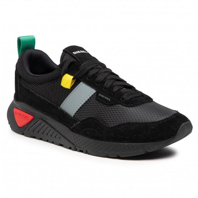 Sneakersy DIESEL - S-Kb Low Run Y02359 P3836 T8013  Black