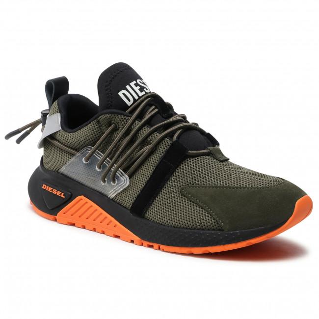 Sneakersy DIESEL - S-Kb Up Lace Y02537 P3849 H2906 Olive Night/Black