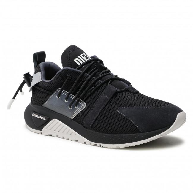 Sneakersy DIESEL - S-Kb Up Lace Y02537 P3849  Black/Asphalt