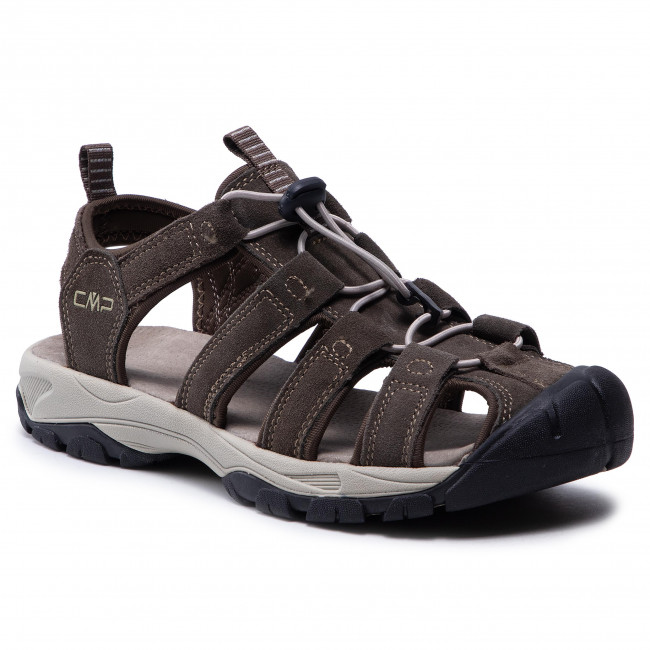 Sandále CMP - Sahiph Leather Hiking Sandal 30Q9507  Wood P961