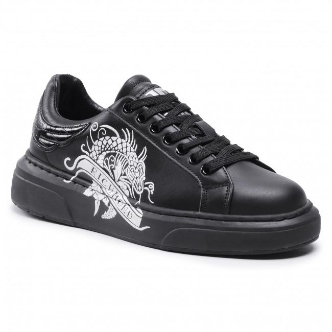 Sneakersy JOHN RICHMOND - 10211/CP B  Black