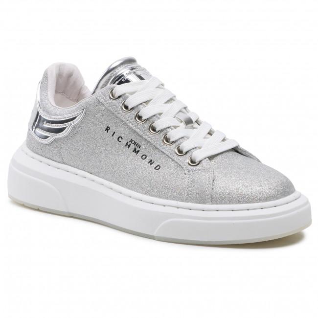 Sneakersy JOHN RICHMOND - 10215/CP B Silver