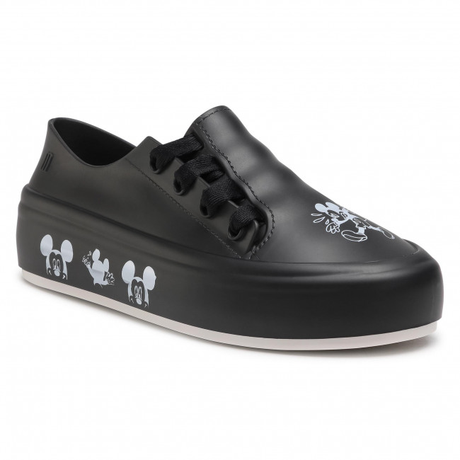 Poltopánky MELISSA - Ulitsa Sneaker + Micke 33311 Black/White 52152