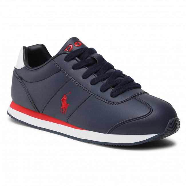 Sneakersy POLO RALPH LAUREN - Pony Jogger RF102910 Navy/Red