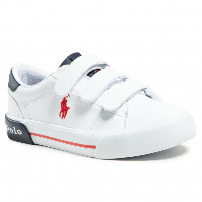Sneakersy POLO RALPH LAUREN - Graftyn Ez RF102975 S White/Navy