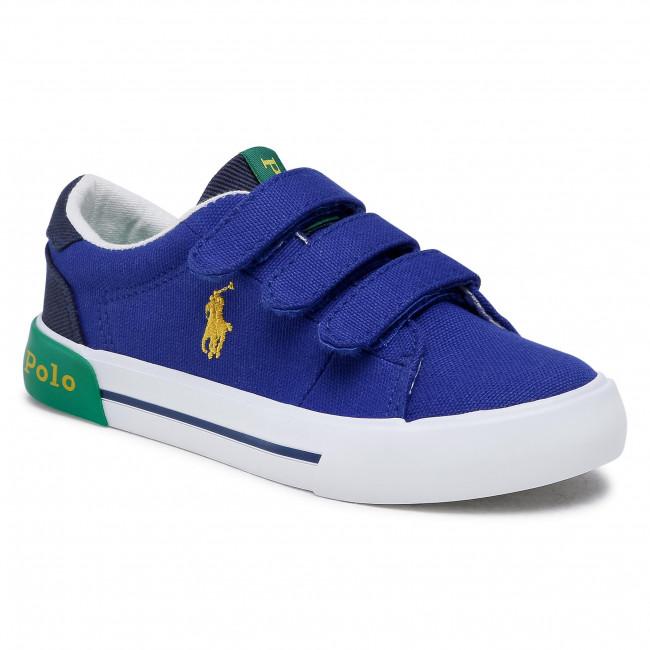 Sneakersy POLO RALPH LAUREN - Graftyn Ez RF102976 S Royal/Nvy/Grn