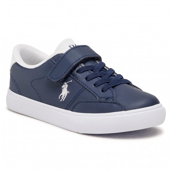 Sneakersy POLO RALPH LAUREN - Theron IV Ps RF102984 Navy/White