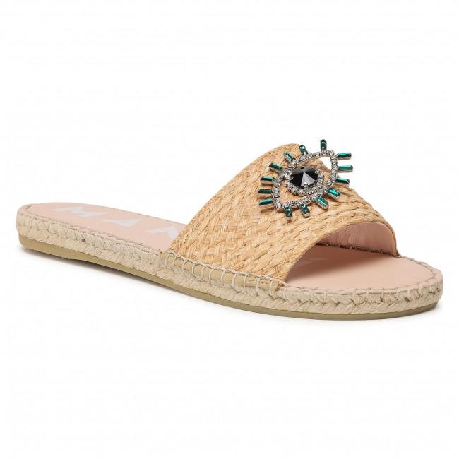 Espadrilky MANEBI - Flat Sandals G 5.0 Js Natural W Evil Eye
