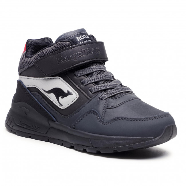 Sneakersy KANGAROOS - Rooki Ev Mid 19036 000 2119  Charco Grey/Jet Black