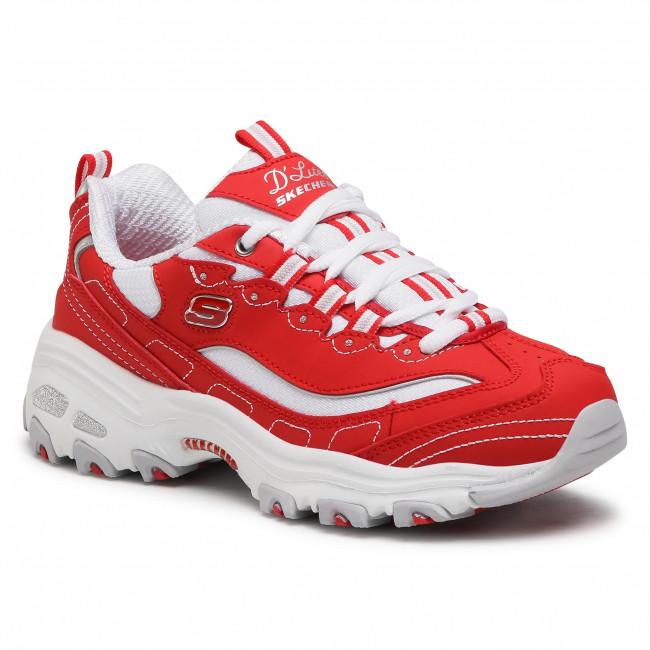 Sneakersy SKECHERS - Biggest Fan 11930/RDW Red/White