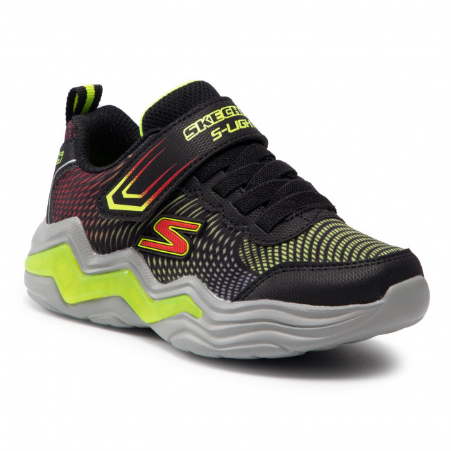 Sneakersy SKECHERS - Erupters IV 400125L Black/Lime