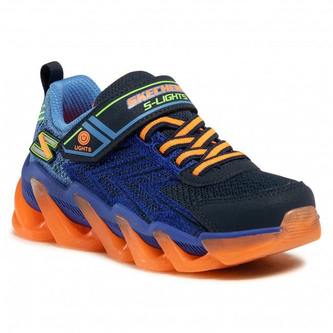 Sneakersy SKECHERS - Mega-Surge 400130L/NVOR Nvy/Orng