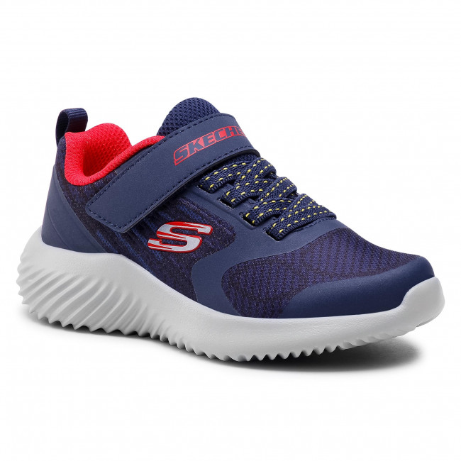 Sneakersy SKECHERS - Gorven 403732L/NVRD Navy/Red